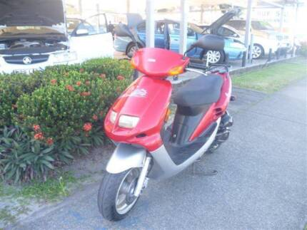 2009 Sang Yang Industries Red Devil BL05W Moped Westcourt Cairns City Preview