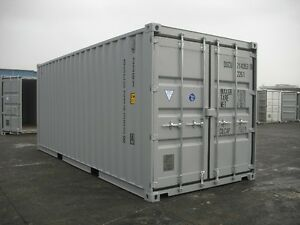 20' new and 40' used HC seacan storage containers