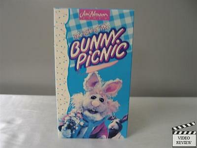 The Muppets - The Tale of the Bunny Picnic VHS Jim Henson
