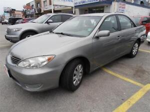 2006 Toyota Camry LE Auto Sedan Green Only 147,000km