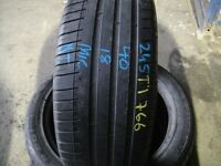 225 4518 Pirelli,CinturatoP7,BMW,Runflat 91Y SingleTyre6.8mm(450-458 Barking Road,E13 8HJ) Part Worn