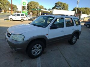 2002 Mazda Tribute Luxury White 4 Speed Automatic Wagon Somerton Park Holdfast Bay Preview