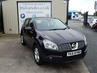 NISSAN QASHQAI TEKNA 1.5 DCI 2WD (FINANCE & WARRANTY AVAILABLE) (black) 2007