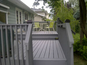 AT LAST! a skilled fence and deck builder has arrived!