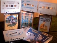 WORLD MUSIC BY COUNTRY &/OR SPECIALIST/INDIGENOUS INSTRUMENT PRERECORDED CASSETTE TAPES. PART 1 OF 2