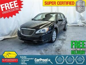 2012 Chrysler 200 Touring *Warranty* $84.60 Bi-Weekly OAC