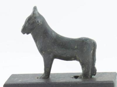 NobleSpirit 3970 Rare Luristan Bronze Figure of a Bull Circa 900/800 B.C.