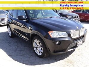 2013 BMW X3 28i PREMIUM PANORAMIC SUN ROOF