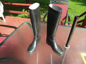 Rubber Boots, or Riding Boots
