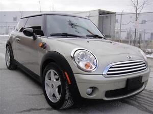 2007 MINI COOPER-VERY CLEAN LOADED PANO ROOF LEATHER