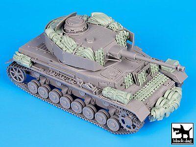 - Black Dog 1/35 German Panzer IV Ausf.J Tank Accessories Set WWII (Dragon) T35087