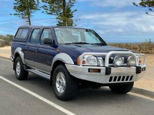 2004 Nissan Navara D22 S2 ST-R Blue 5 Speed Manual Utility Christies Beach Morphett Vale Area Preview