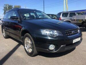 2004 Subaru Outback Black Manual Wagon Sandgate Newcastle Area Preview