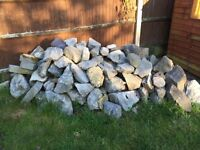 Rockery Stones & Slate feature Stones