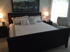 King Size bedroom suite and mattress