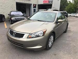 2008 Honda Berline Accord LX (GARANTIE 1 ANS INCLUS)