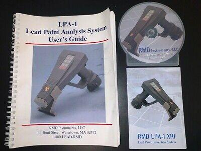 Rmd Instruments Lpa-1 Xrf Analyzer Portable Gun Kit System