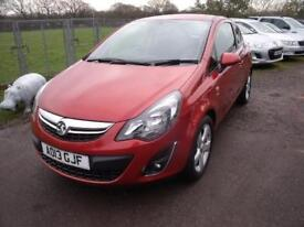 VAUXHALL CORSA SXI - FSH Orange Manual Petrol, 2013
