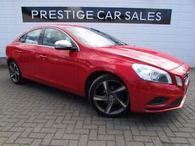 VOLVO S60 2.0 D4 R-DESIGN 4d 161 BHP (red) 2012