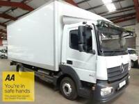 2014 14 MERCEDES-BENZ ATEGO 5.1 816 156 BHP BOX WITH TAIL LIFT - EURO 6 - AUTOMA