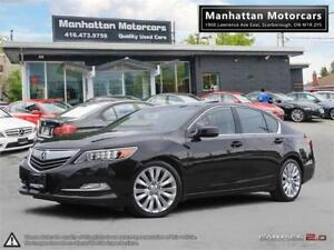 2014 ACURA RLX ELITE PKG |NAV|CAMERA|1 OWNER|NO ACCIDENT|BL.SPOT