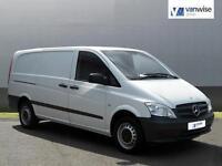 2014 Mercedes-Benz Vito 113 CDI Diesel white Manual