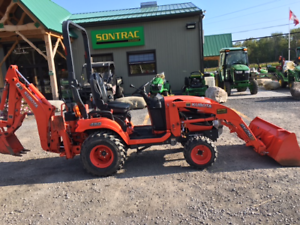 2014 KUBOTA BX25D - TLB - LOW HOURS - MINT CONDITION