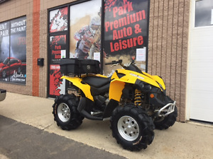 Mint condition 2012 Can Am Renegade 4x4 for only $69 bi-weekly