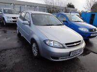 2005(55reg) Chevrolet Lacetti 1.6 Petrol MOT'd 1 Year £895