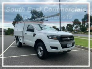 2015 Ford Ranger PX XL White 6 Speed Manual Cab Chassis Pakenham Cardinia Area Preview