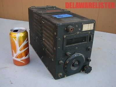 WWII US Military Aircraft Radio Transmitter T-20 ARC-5   4 to 5.3 mc
