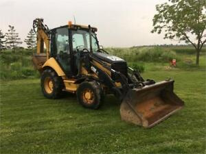 2007 Caterpillar 420E IT 4X4 Backhoe