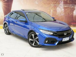 2017 Honda Civic 10th Gen MY17 RS Blue 1 Speed Constant Variable Hatchback Collingwood Yarra Area Preview