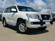 2009 Toyota Landcruiser UZJ200R GXL White 5 Speed Sports Automatic Wagon Garbutt Townsville City Preview