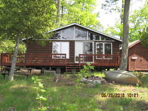 GULL RIVER WATERFRONT COTTAGE - NEW PRICE!