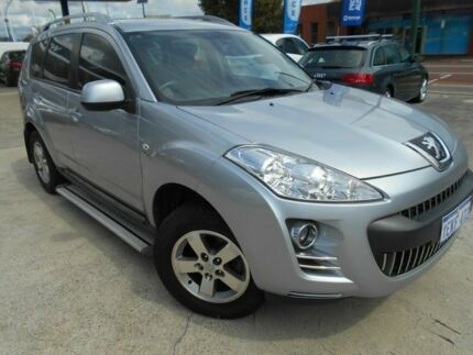 2010 Peugeot 4007 ST (5 Seat) Silver 6 Speed Direct Shift Wagon Victoria Park Victoria Park Area Preview
