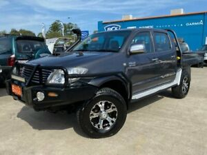2008 Toyota Hilux KUN26R MY08 SR5 Grey 4 Speed Automatic Utility Greenslopes Brisbane South West Preview