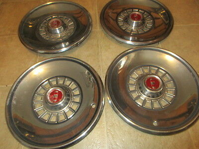 """1979-80-81-82-1983 FORD LTD 14"""" HUBCAPS / SET OF FOUR"""