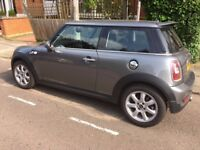 One owner Mini Cooper S in clean condition with MOT and tax