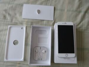 IPHONE 6  64GB WHITE UNLOCKED (IN EXCELLENT CONDITION )