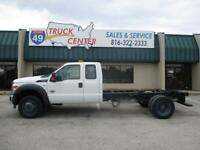 2015 Ford F-550 Extended Cab 4X4 Cab & Chassis