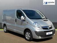 2013 Vauxhall Vivaro 2700 CDTI SPORTIVE Diesel silver Manual