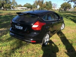 2012 Ford Focus LW MK2 Sport Black 6 Speed Automatic Hatchback Coonamble Coonamble Area Preview