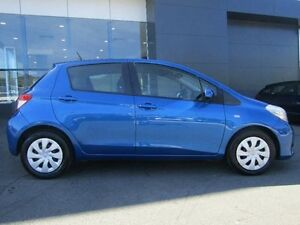 2014 Toyota Yaris NCP131R YRS Blue 4 Speed Automatic Hatchback Earlville Cairns City Preview