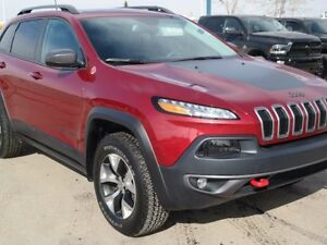 2016 Jeep Cherokee Trailhawk**4x4 with Jeep Active Drive 2**Leat