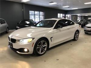 2014 BMW 4 Series 428i xDrive*SPORT PKG*NAV*WHITE ON RED*