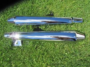 Triumph exhaust pipes
