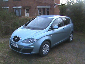 REDUCED again. One Thousand Miles. Perfect Condition. Seat Altea 1.9 TDi S, 2009