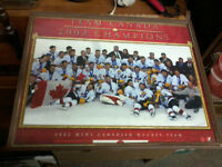 Team Canada 2002 Framed Picture