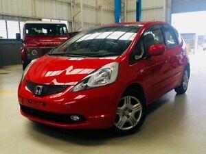 2010 Honda Jazz GD GLi Hatchback 5dr CVT 1sp 1.3i Red Constant Variable Hatchback